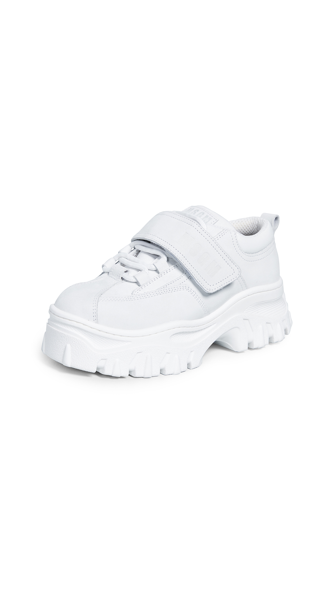 Chunky Strap Sneakers in White