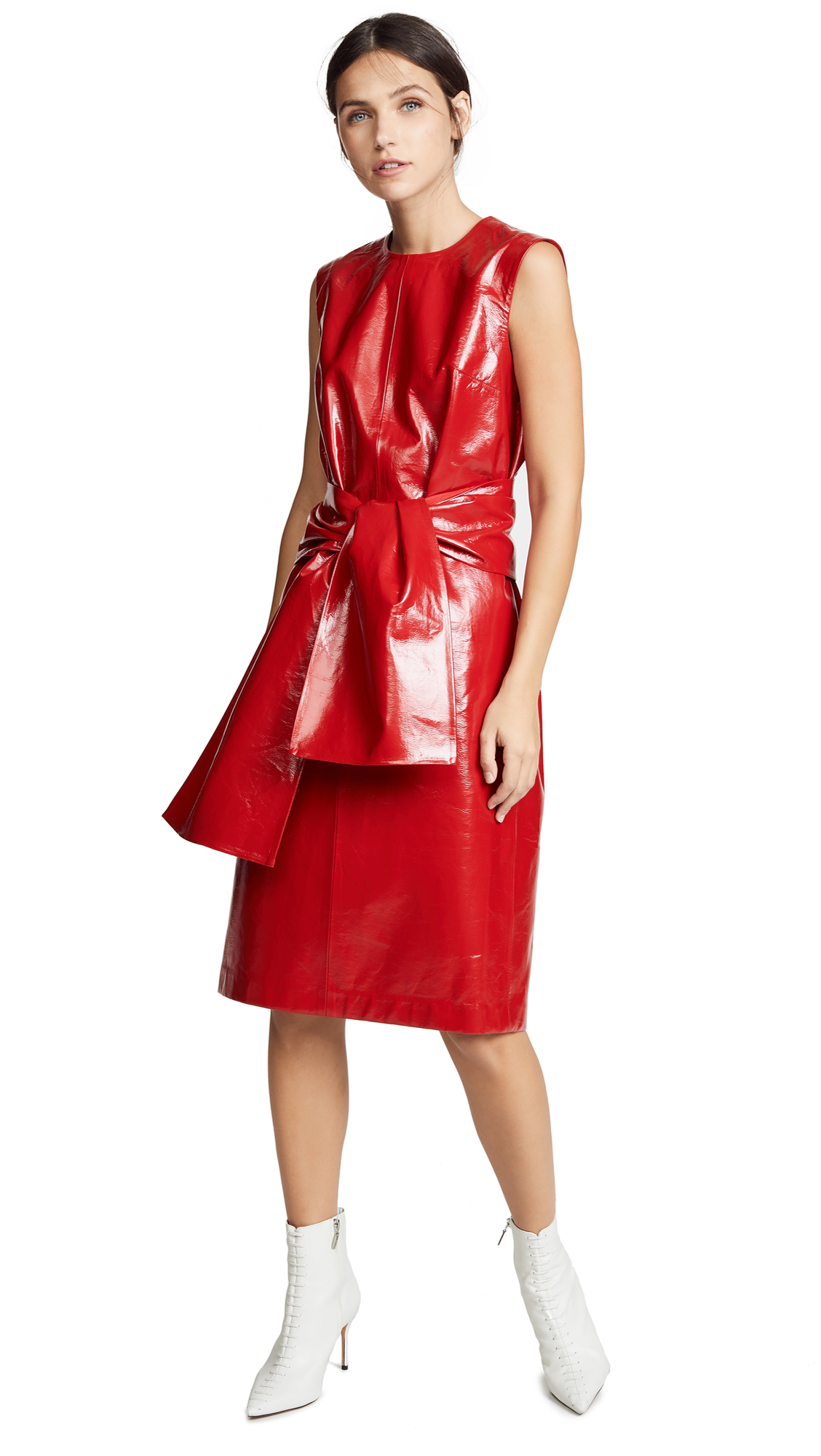 MSGM Faux Leather Dress – 60% Off Sale