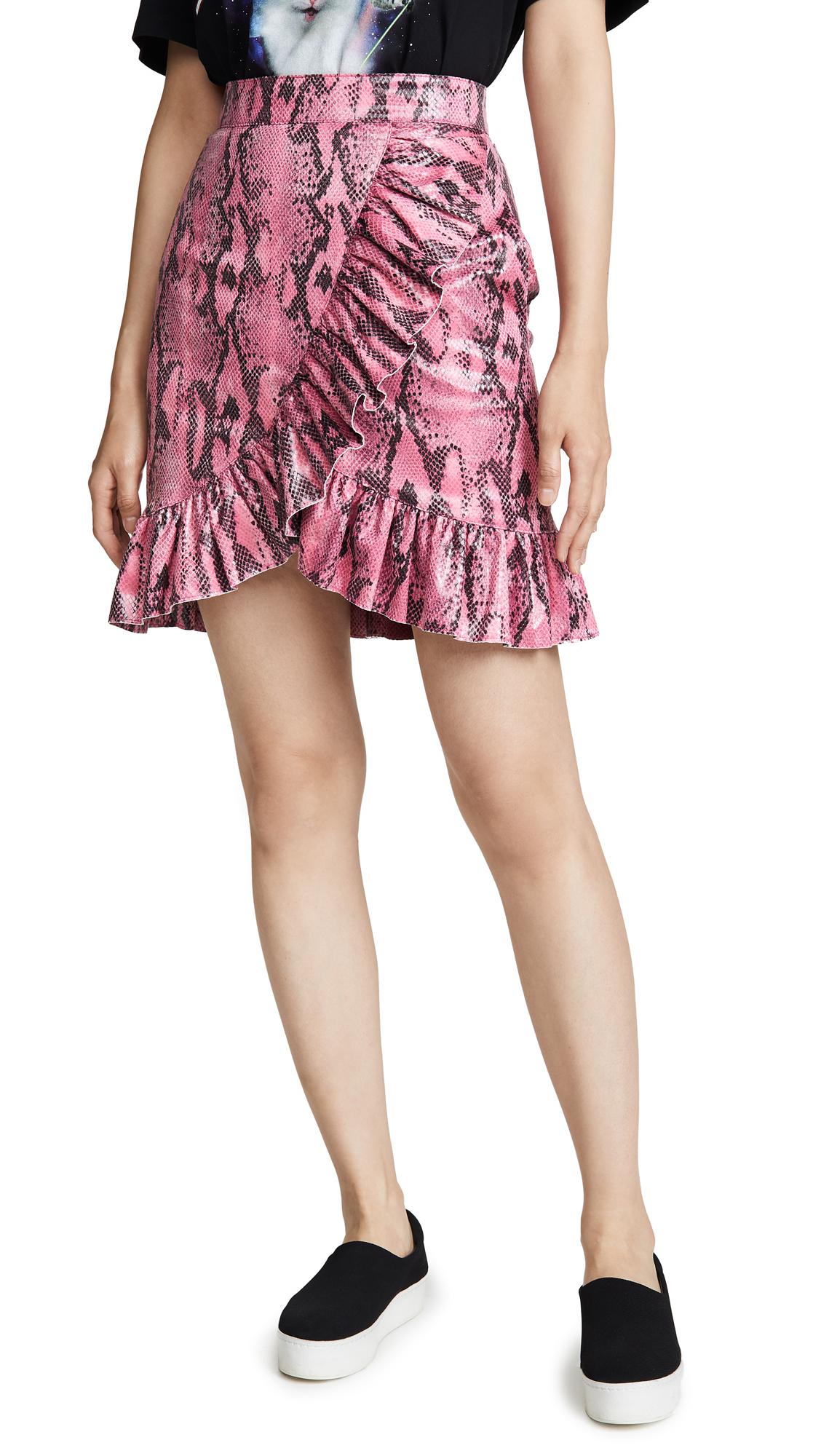 Buy MSGM online - photo of MSGM Python Skirt