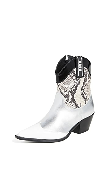 MSGM Cowboy Boots