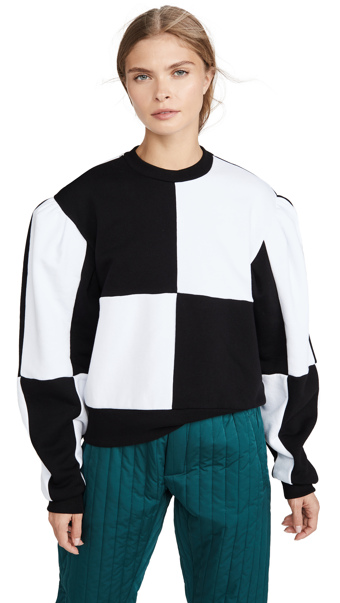 Buy MSGM online - photo of MSGM Colorblock Pullover