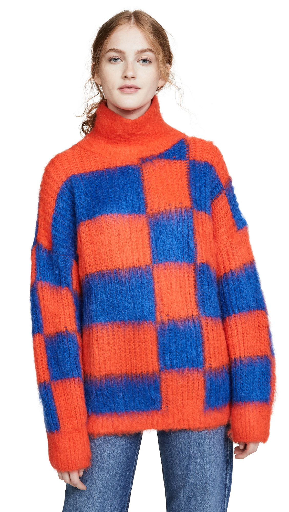 Buy MSGM online - photo of MSGM Colorblock Turtleneck