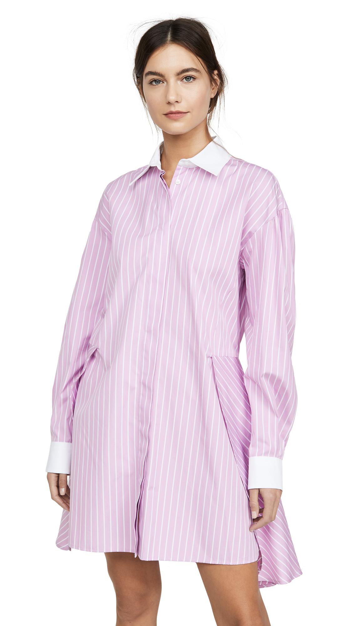 Buy MSGM Collared Shirt Dress online beautiful MSGM Clothing, Dresses