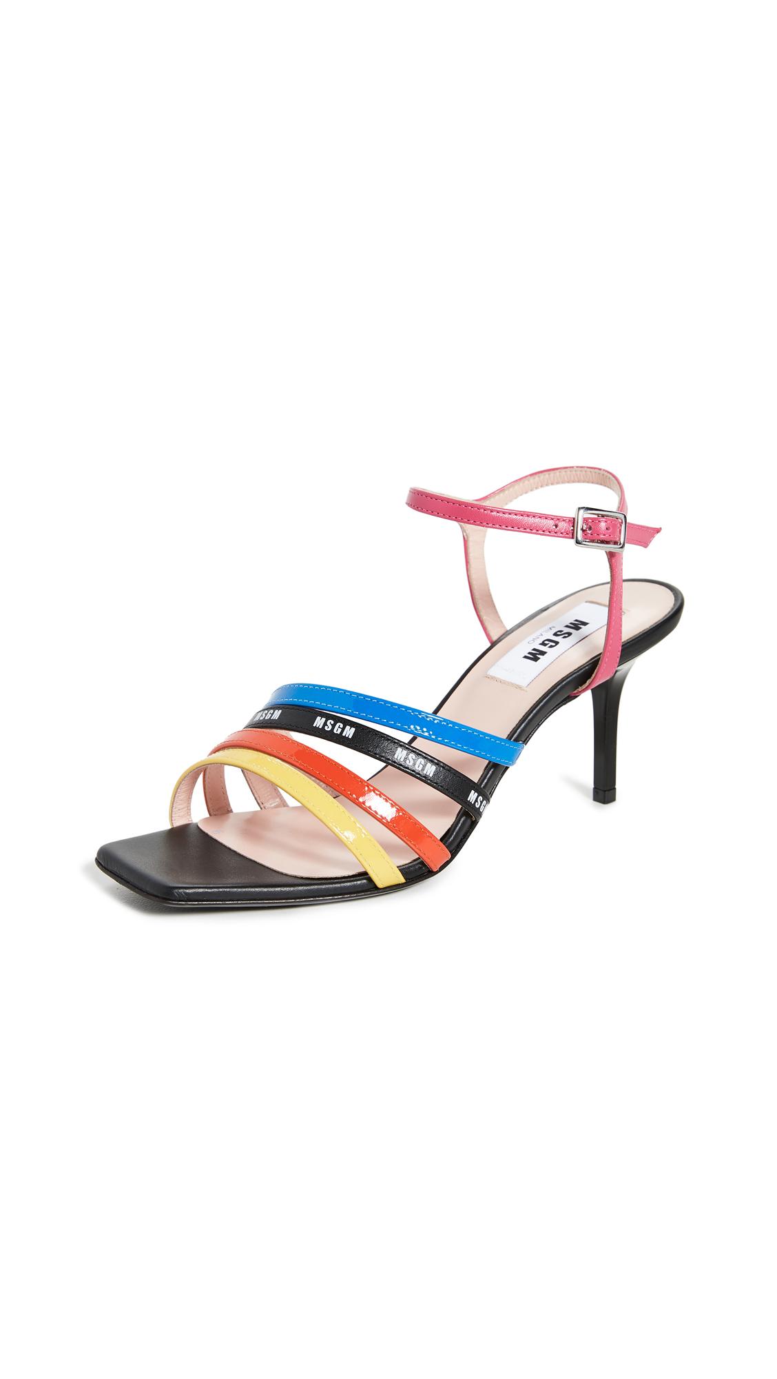 MSGM Multi Strap Sandals – 50% Off Sale