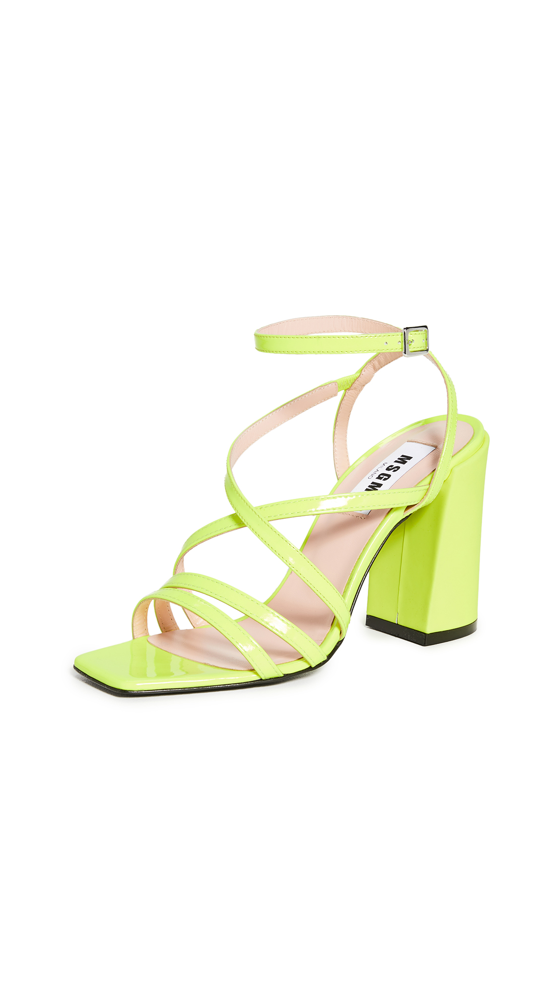 MSGM Strappy Sandals – 50% Off Sale