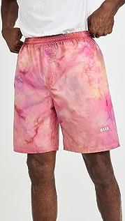 MSGM Tie Dye Print Shorts