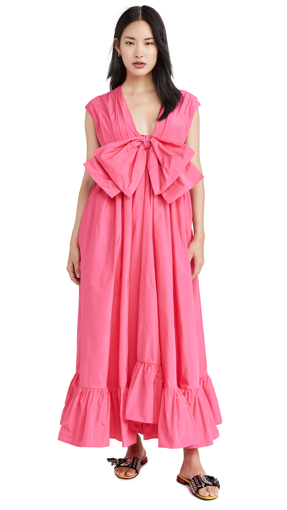 Buy MSGM Bow Front Dress online beautiful MSGM Clothing, Dresses