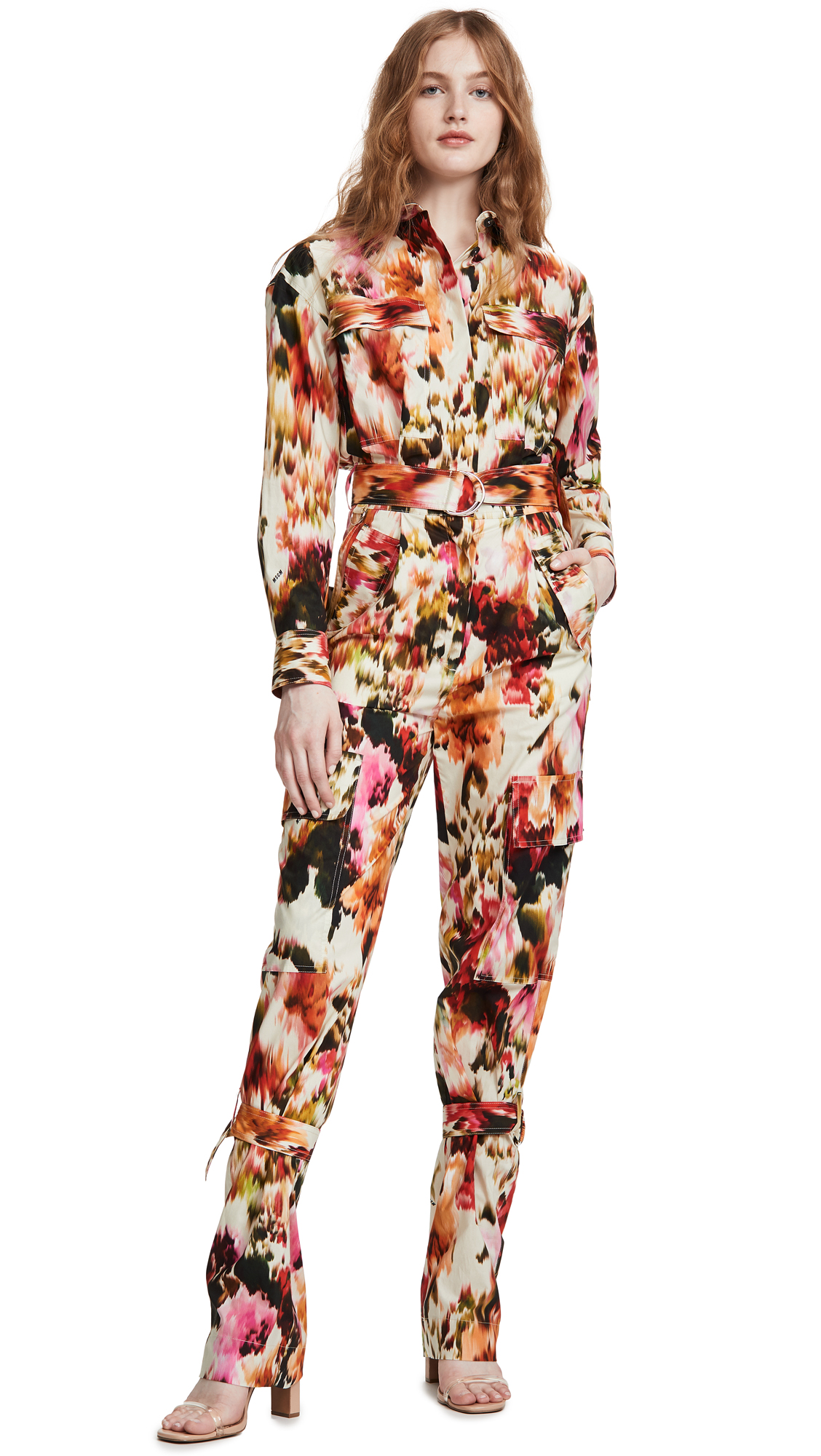 Buy MSGM online - photo of MSGM Patterned Jumpsuit