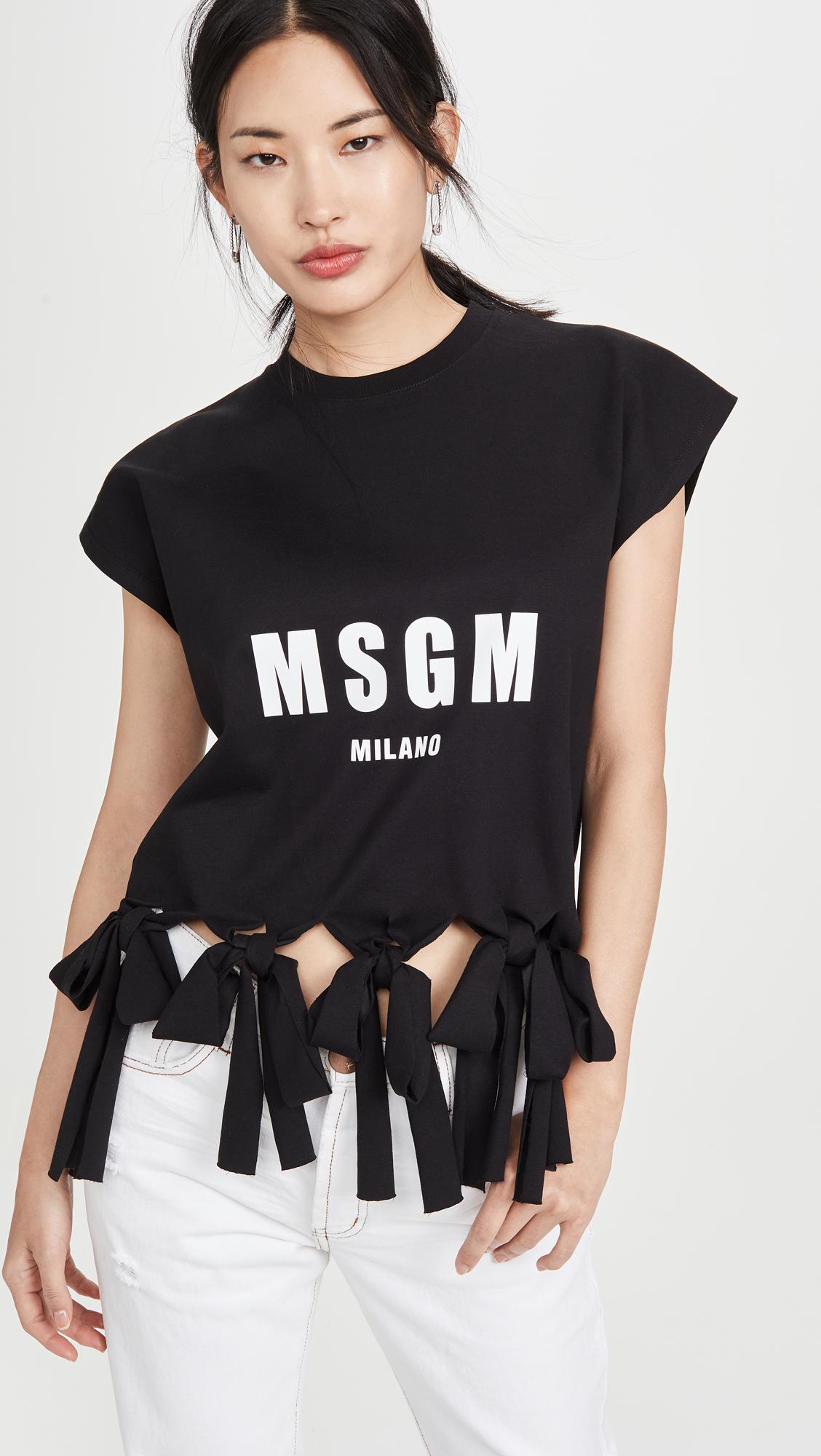 Buy MSGM online - photo of MSGM MSGM Tee