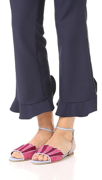 Malone Souliers Lois Flat Sandals