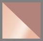 стеклянный/розовое золото