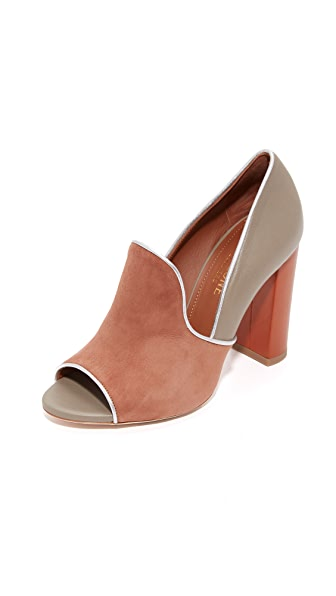 Malone Souliers Grace Pumps - Caramel/Grey