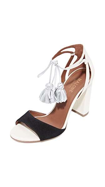 Malone Souliers Gladys Wrap Tassel Sandals