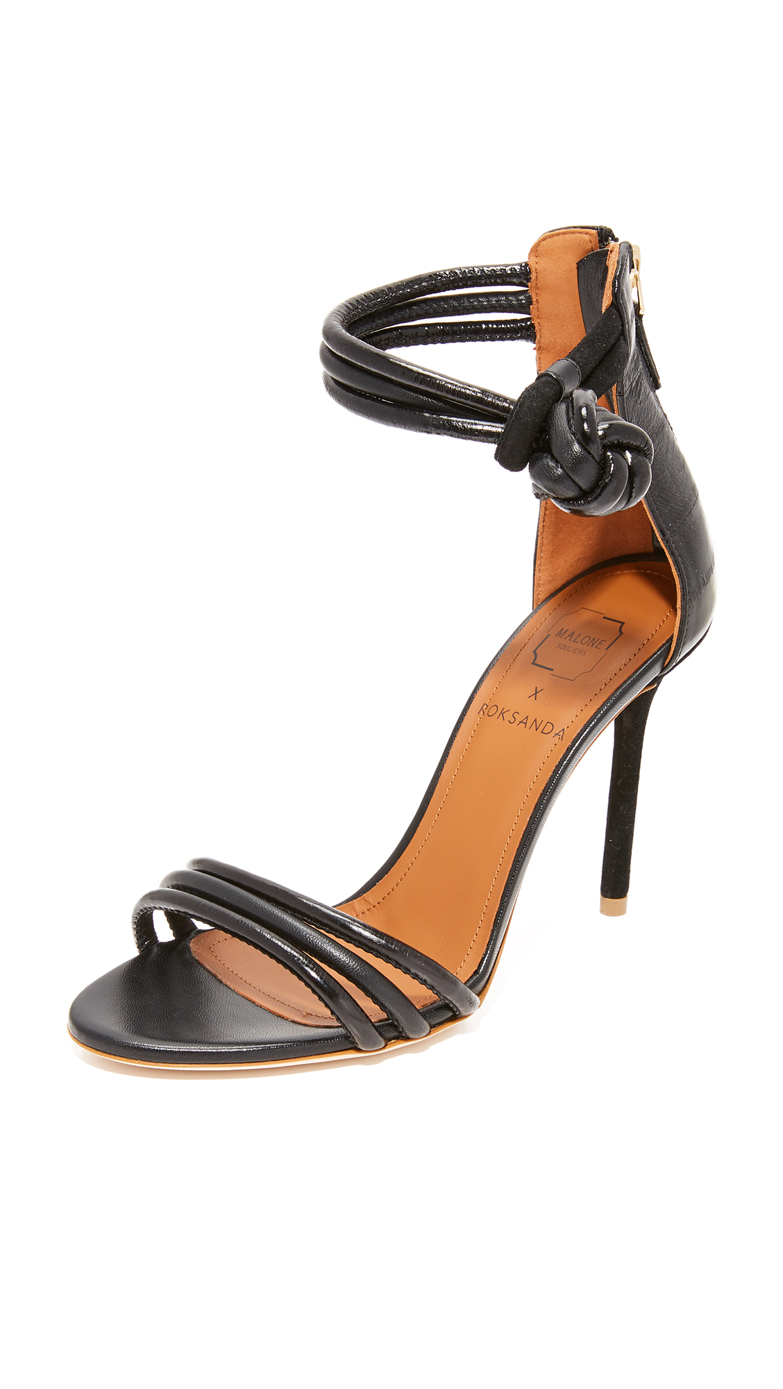 Malone Souliers Ethel Sandals - Black