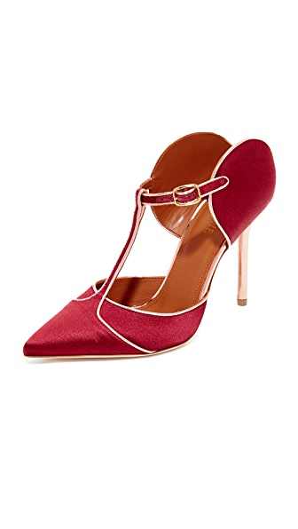 Malone Souliers Imogen Pumps - Wine/Rose Gold