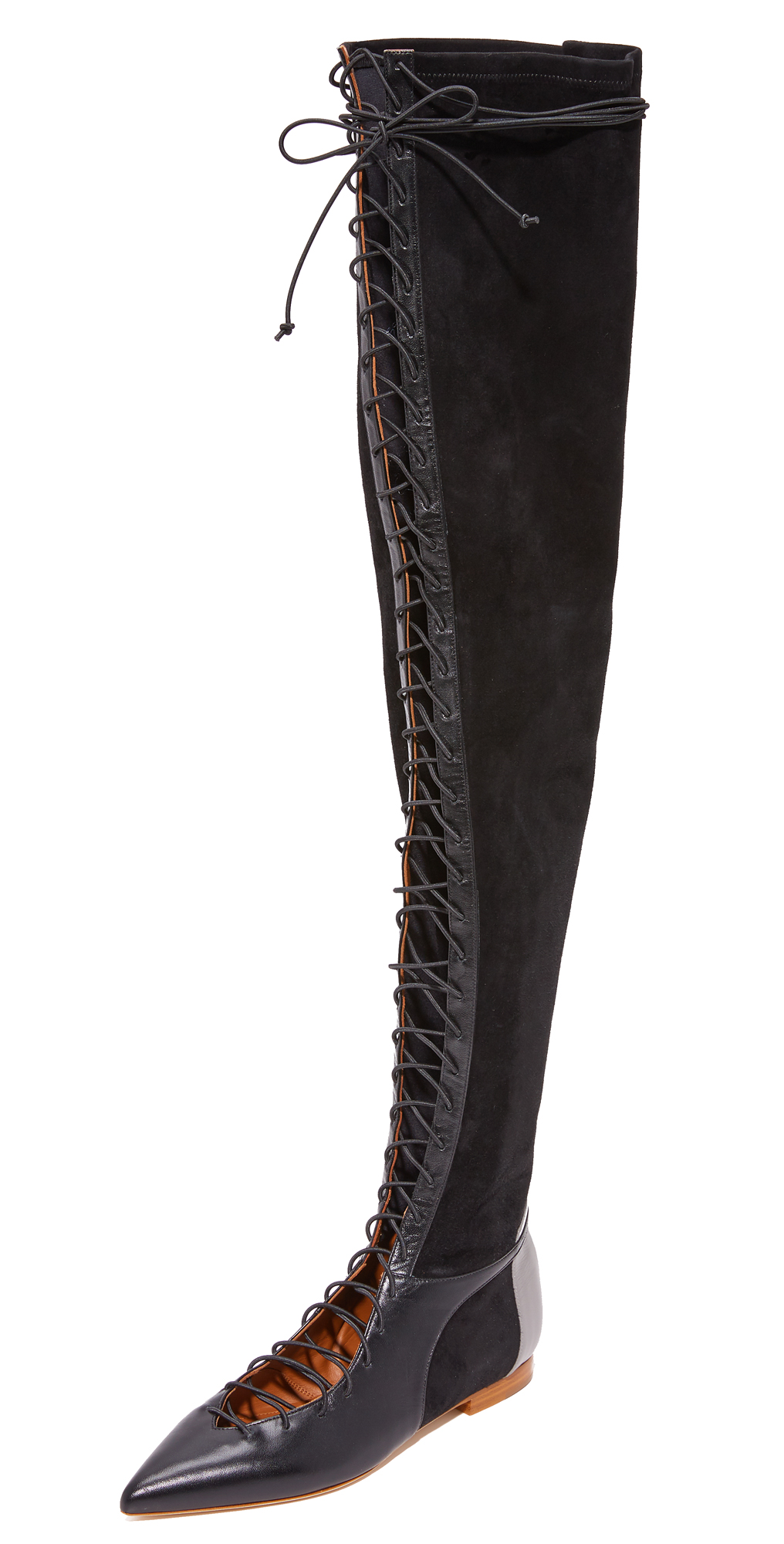 Montana Over the Knee Flat Boots Malone Souliers