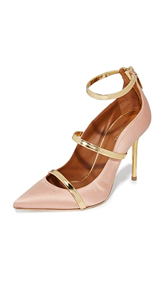Malone Souliers Robyn Pumps - Blush/Gold