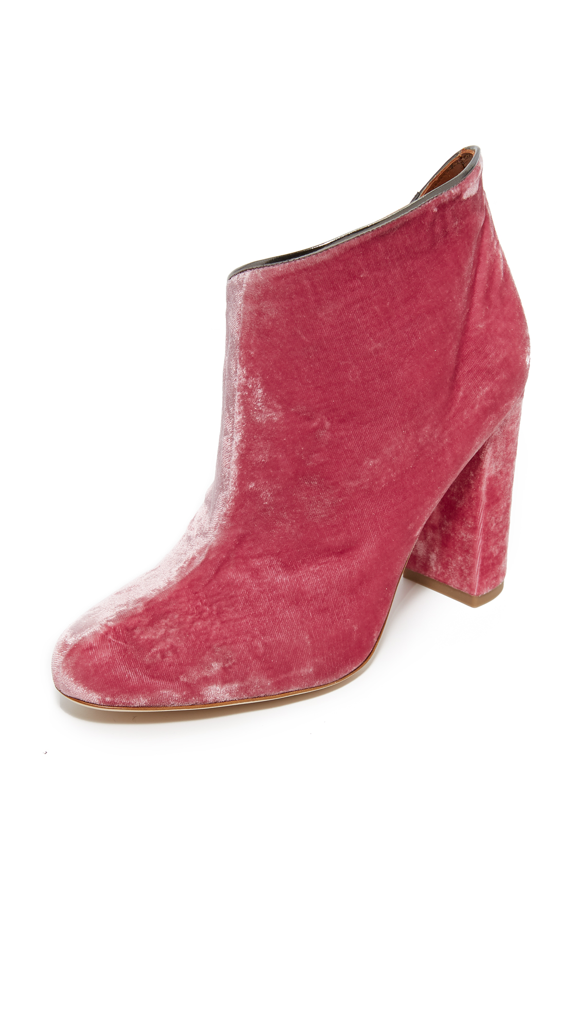 Malone Souliers Eula High Heel Booties - Pink/Charcoal