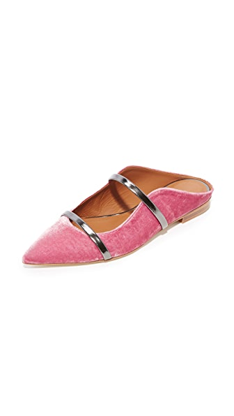 Malone Souliers Maureen Flats - Pink/Charcoal