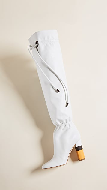 Malone Souliers Kendas Tie Boots