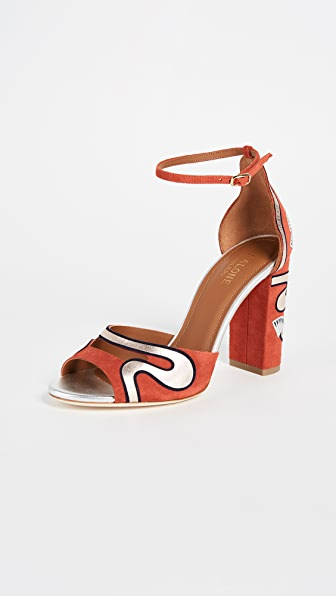 Malone Souliers Nina Strappy Pumps