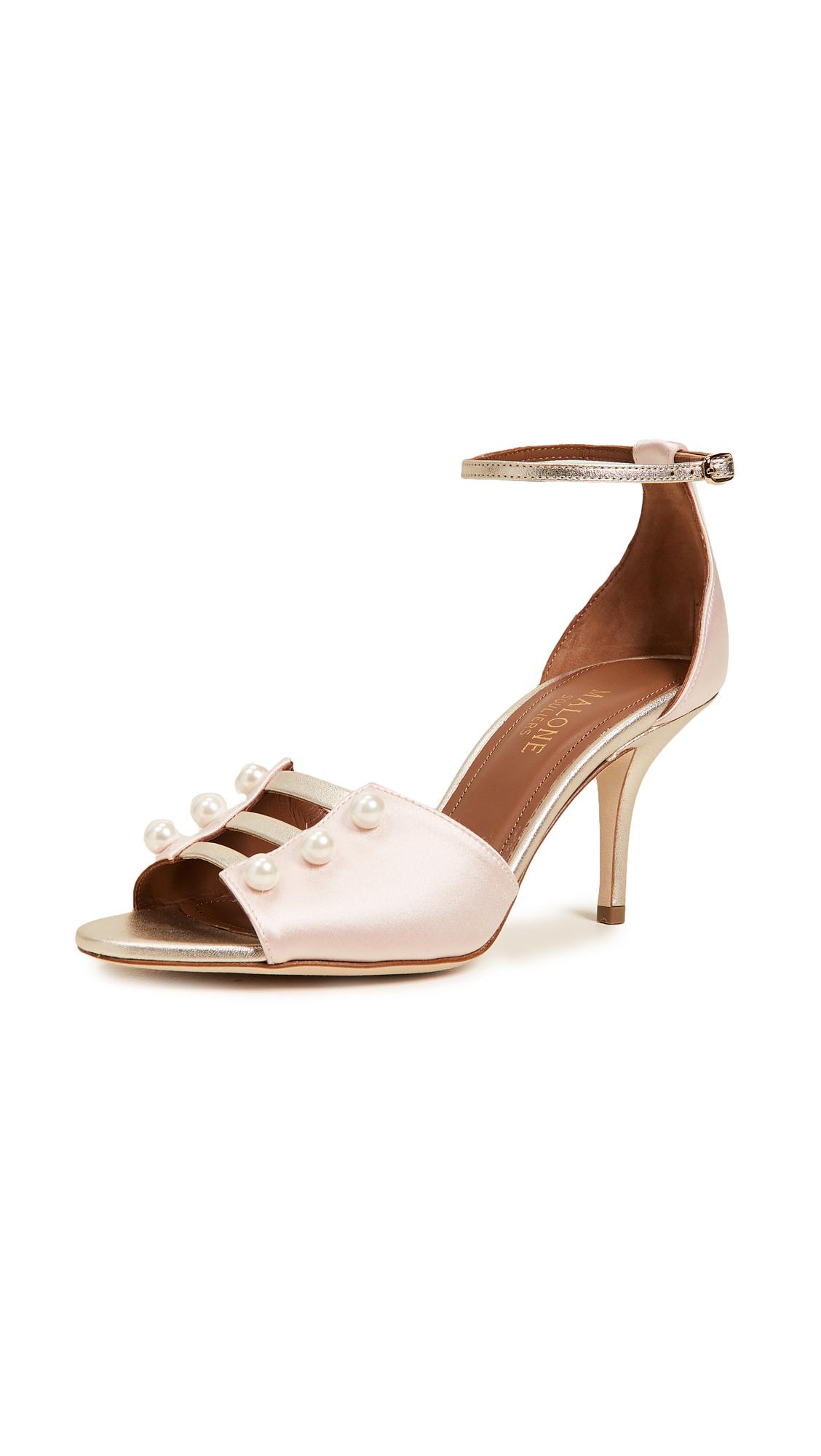 Malone Souliers Zuzu 70mm Sandals - Rose/Platino