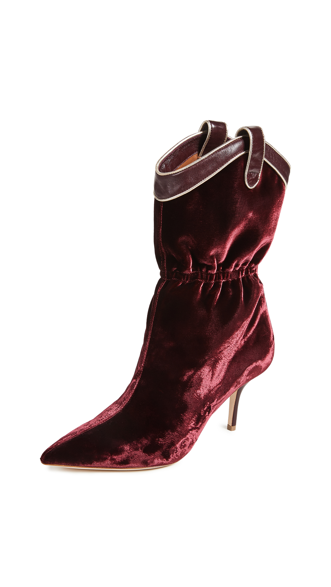 Malone Souliers by Roy Luwolt Daisy Boots - Burgundy/Wine/Platino
