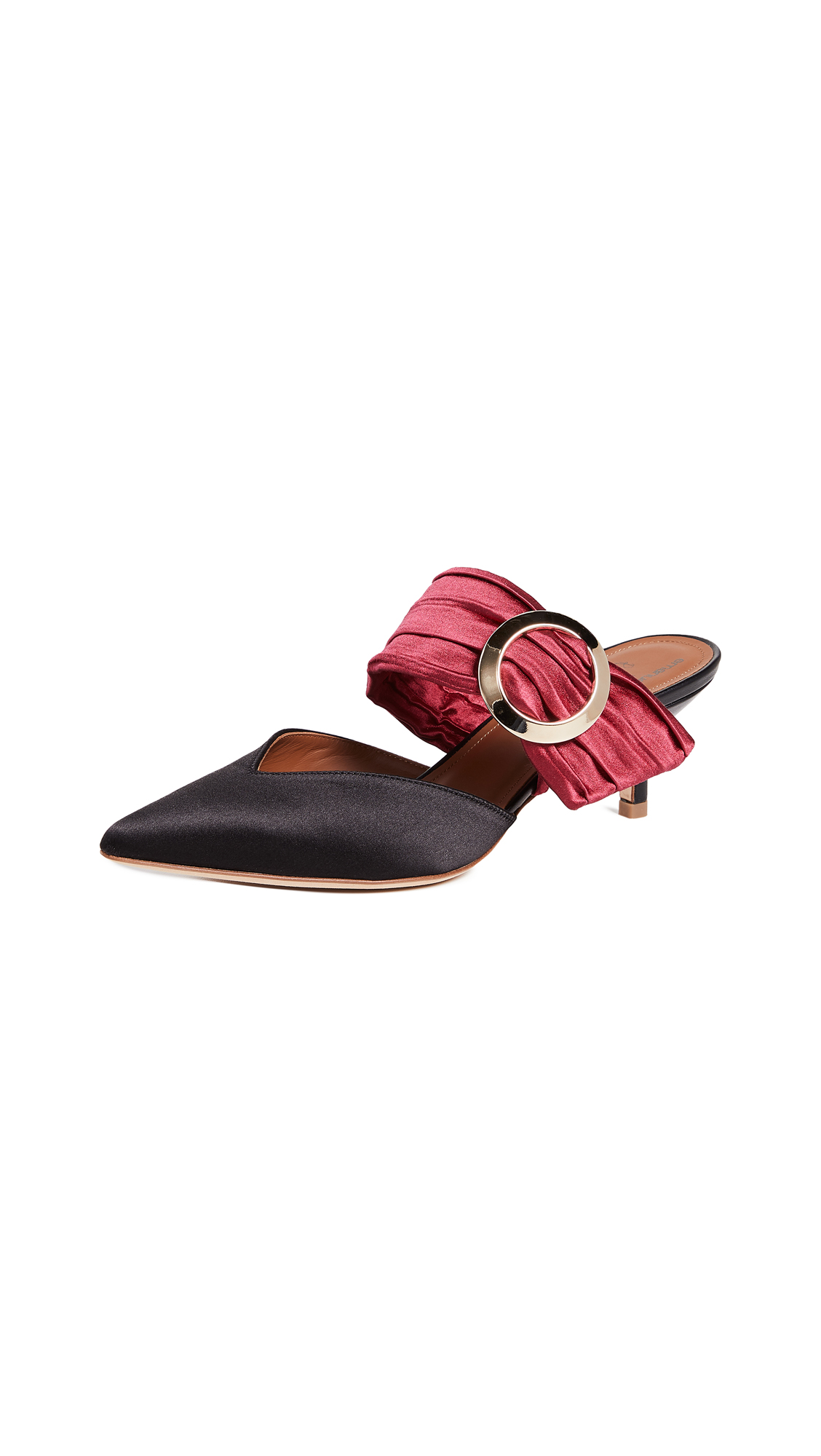Malone Souliers Maite Ungaro Mules - Red/Black