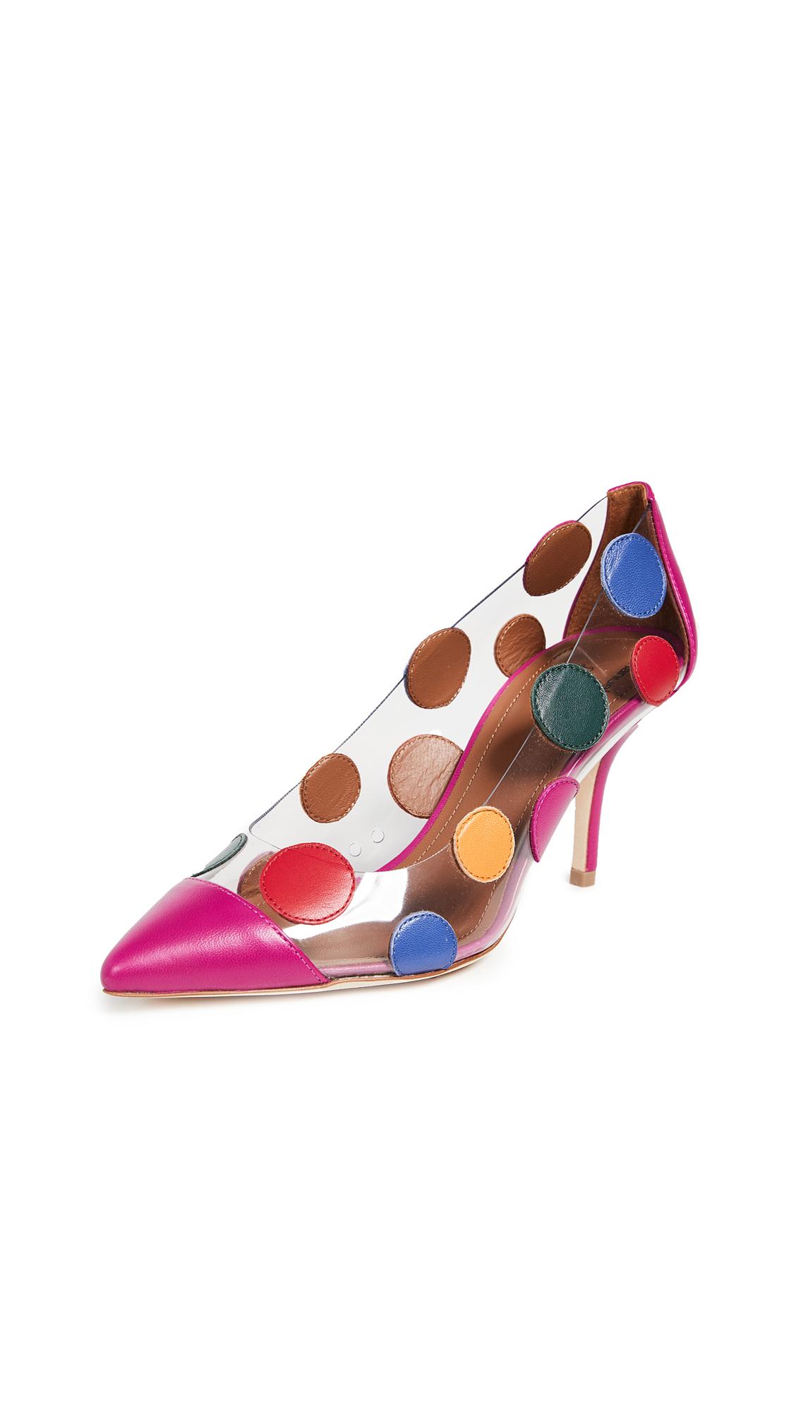 Malone Souliers Christie Ungaro Pumps - Pink/Multi