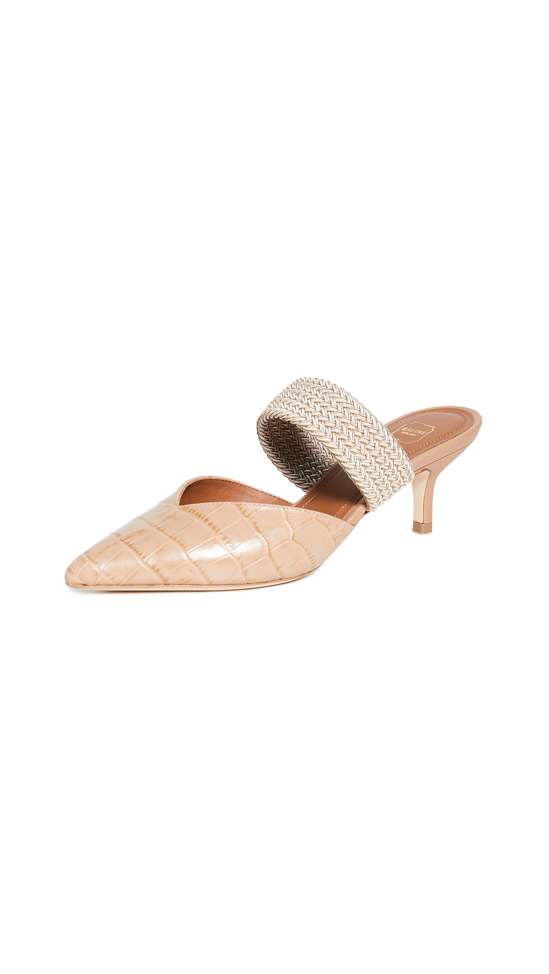 Buy Malone Souliers online - photo of Malone Souliers Maisie Mules 45mm