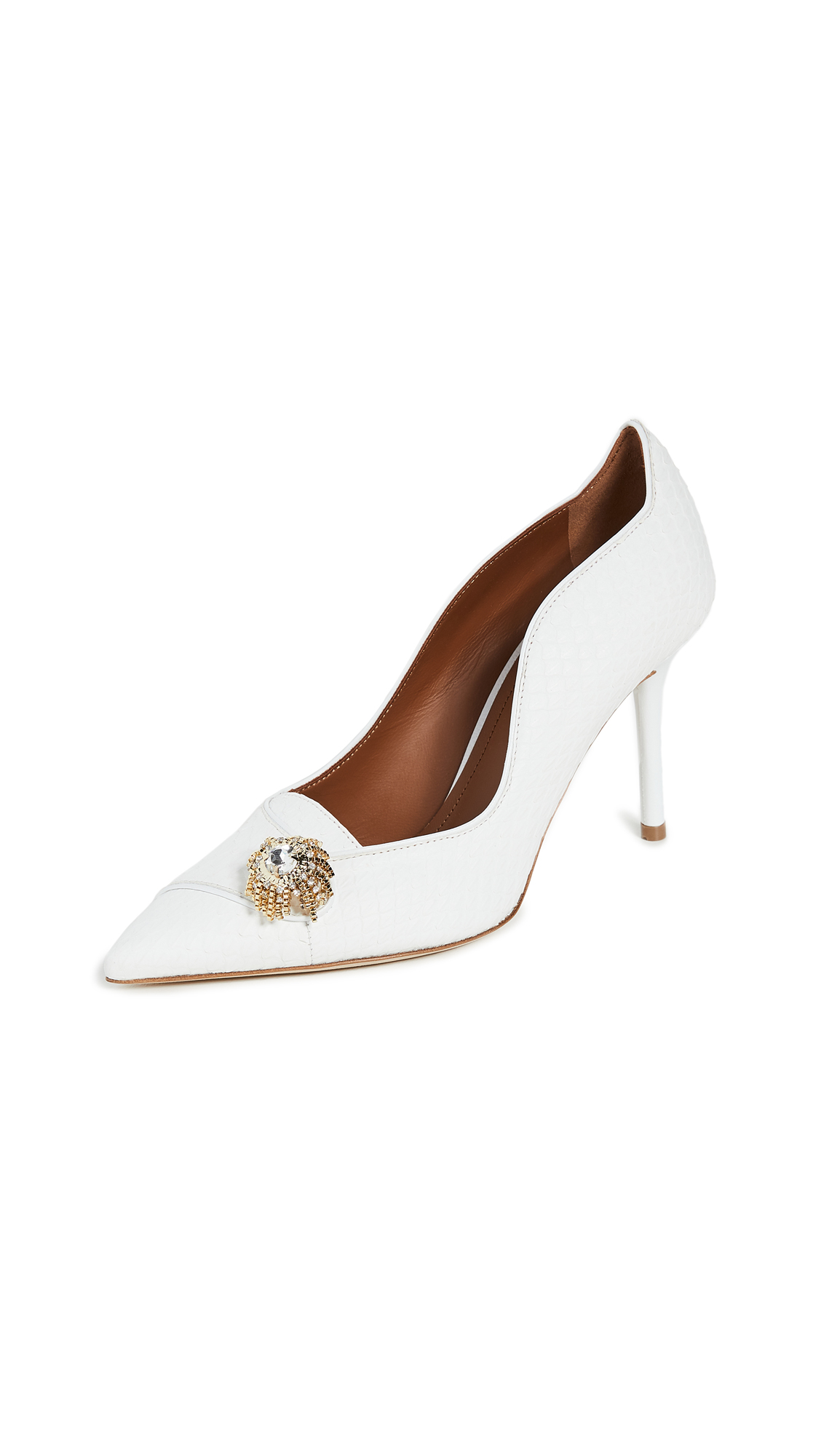 Buy Malone Souliers 85mm Alessia Pumps online, shop Malone Souliers