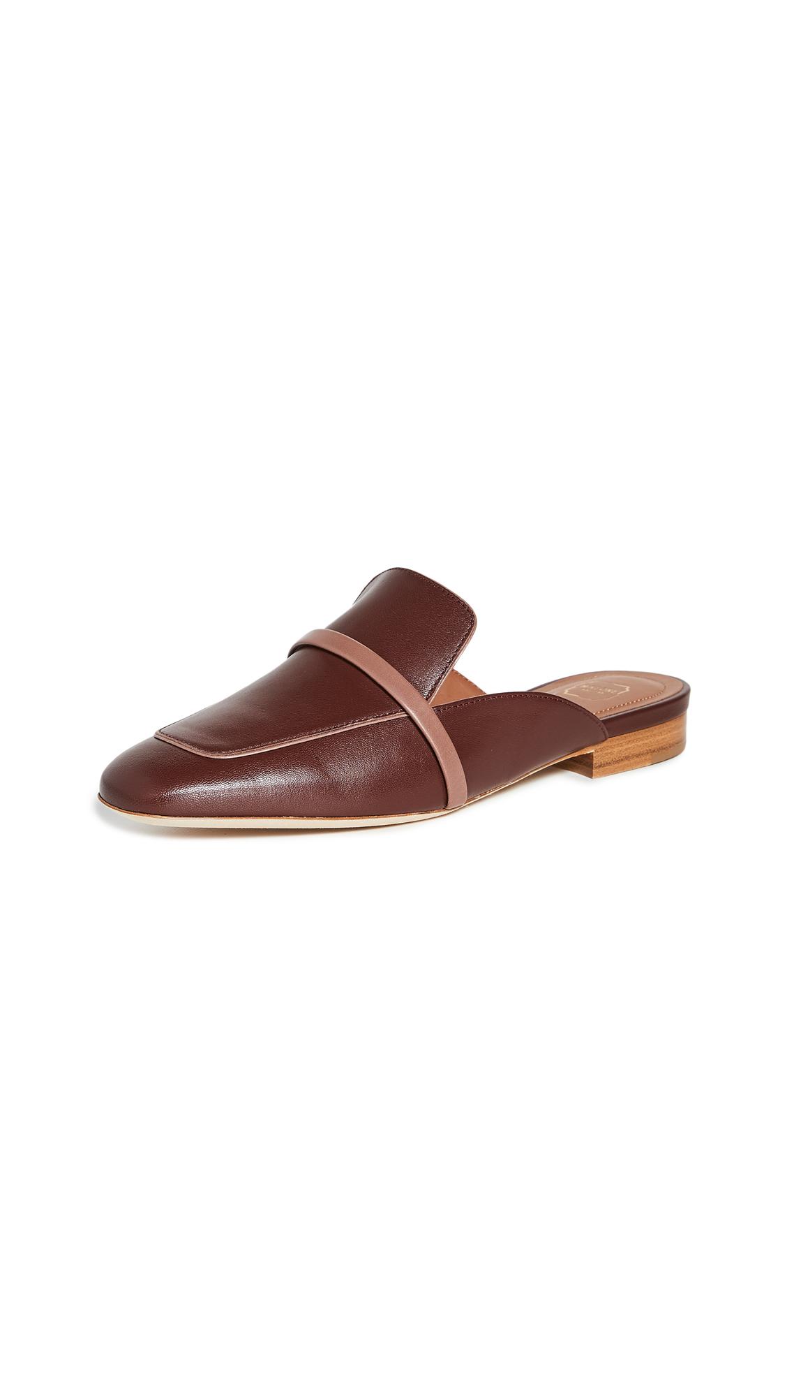 Buy Malone Souliers Jada Flat Mules online, shop Malone Souliers