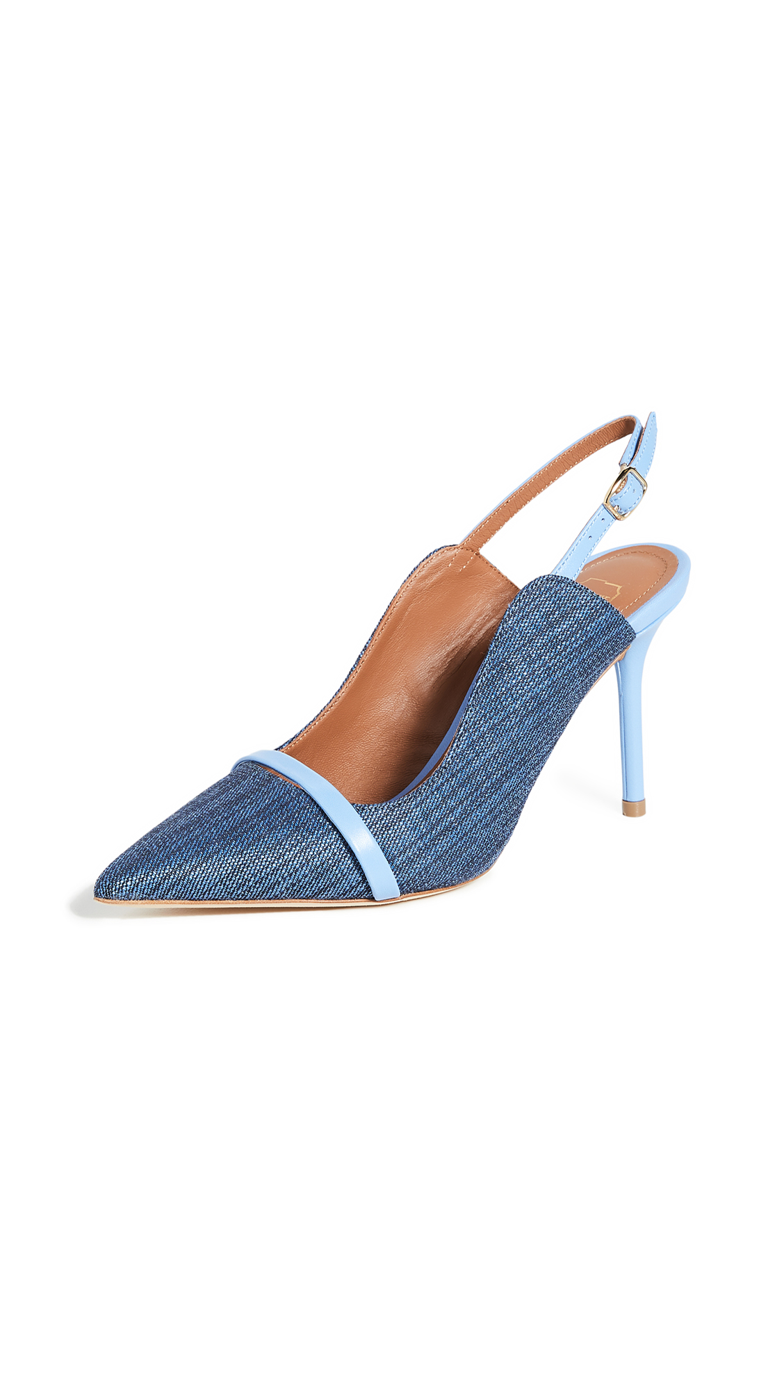 Buy Malone Souliers 85mm Marion Slingback Pumps online, shop Malone Souliers
