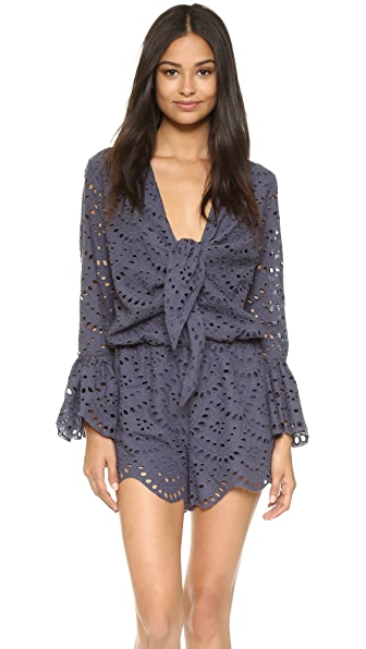 Ministry Of Style Wilderness Romper - Blue Nights