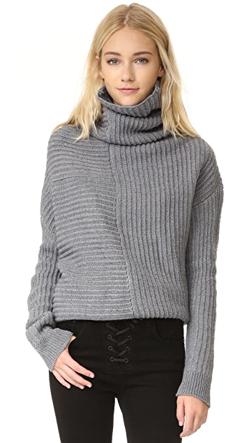 Ministry of Style Drape Knit Sweater