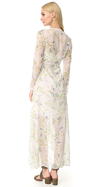 Ministry of Style New Romantic Maxi Wrap Dress
