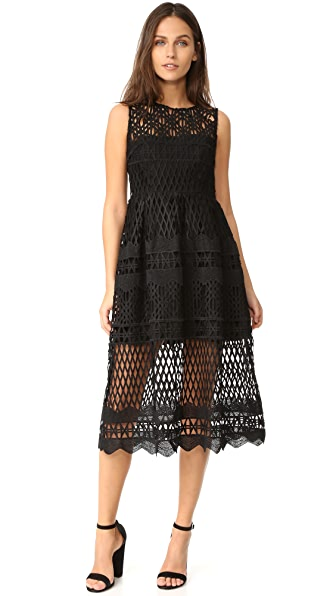 Ministry of Style Demure Midi Dress
