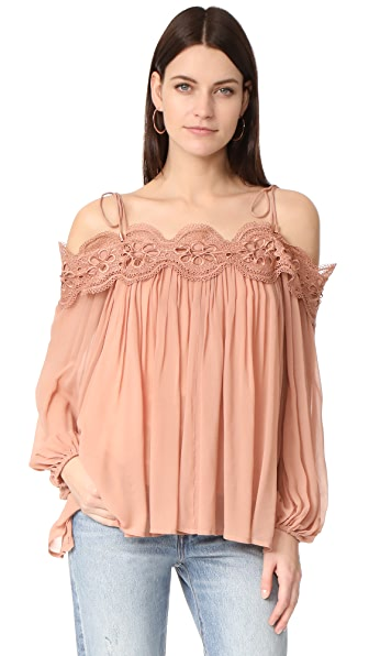 Ministry of Style Shells Top - Dusty Coral