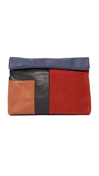 Marie Turnor Accessories Patchwork Lunch Clutch