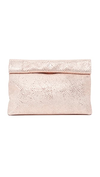 Marie Turnor Accessories Sparkle Lunch Clutch - Pink Sparkle