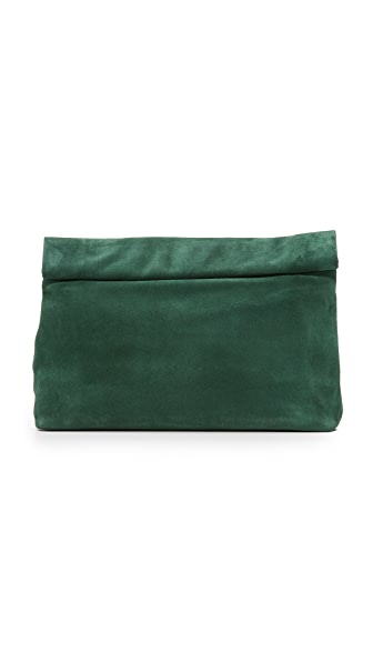 Marie Turnor Accessories Lunch Clutch - Forest