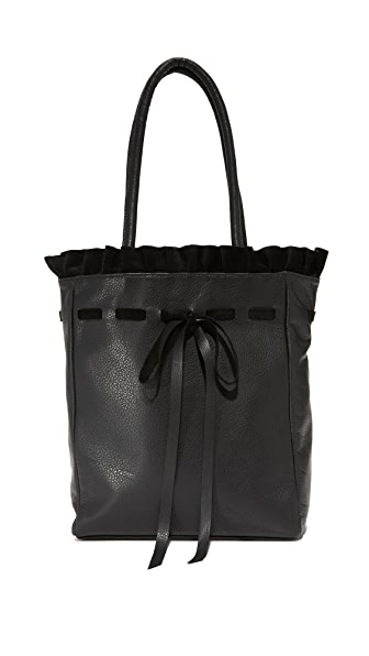 Marie Turnor Accessories Frille Tote In Black