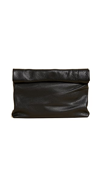 Marie Turnor Accessories The Lunch Clutch In Black