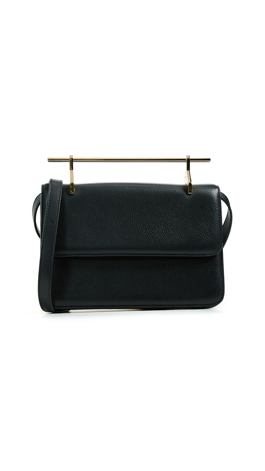M2MALLETIER La Fleur Du Mal Cross Body Bag in Leather