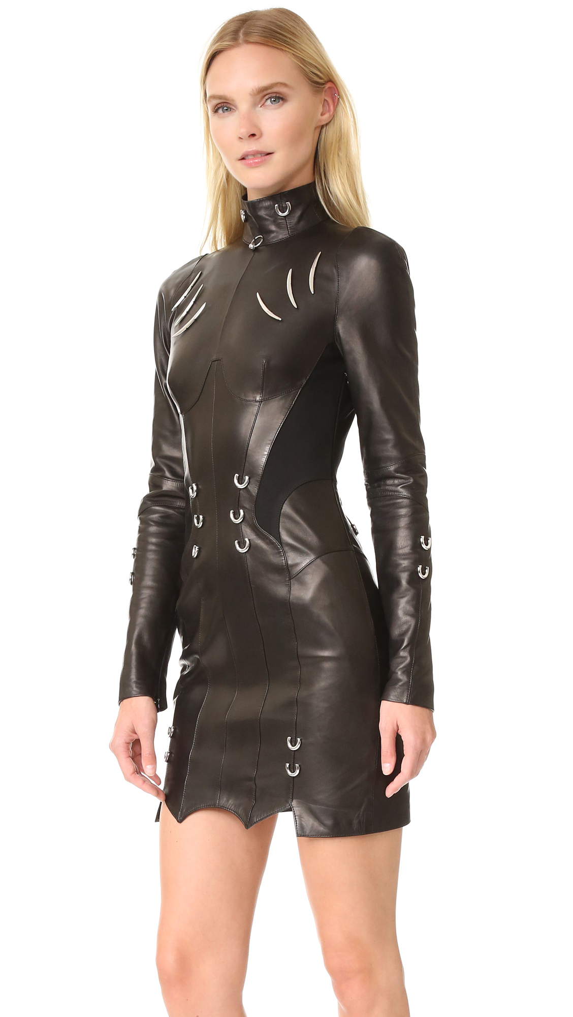 Long Sleeve Leather