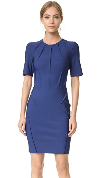 Mugler Short Sleeve Dress