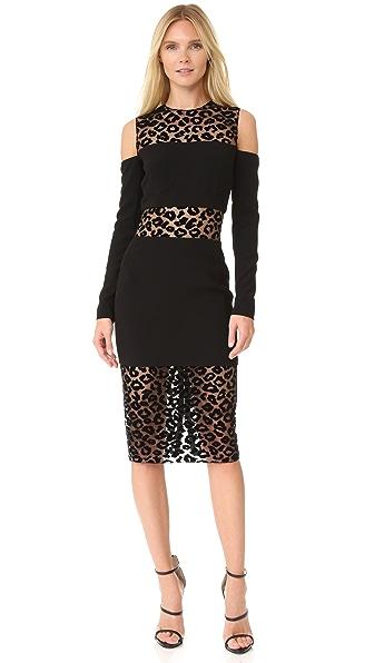 Mugler Short Sleeve Dress
