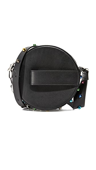 Mugler Swahili Small Messenger Bag - Black