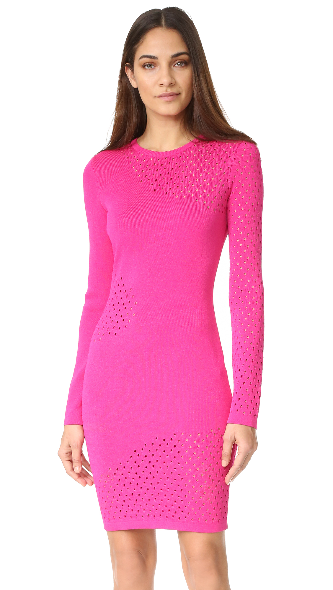 Mugler Long Sleeve Dress