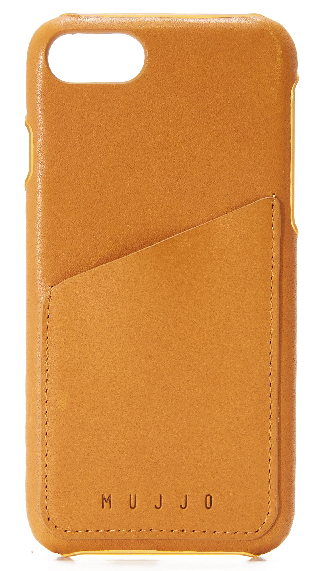 Mujjo Leather Wallet Iphone 7 Case - Tan at Shopbop